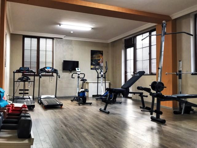 Free fitness room